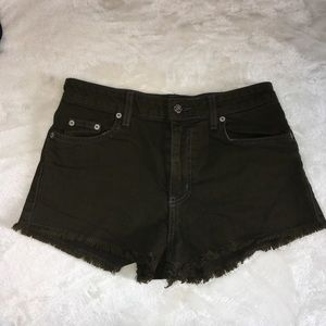 Carmar / LF Army Green Denim Shorts 26